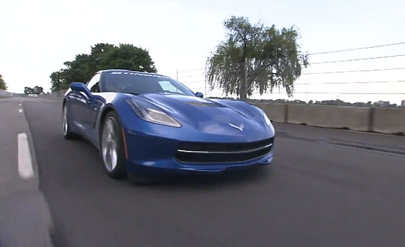 [VIDEO] GRAND-AM Corvette Driver Eric Curran Drives the 2014 Corvette Stingray