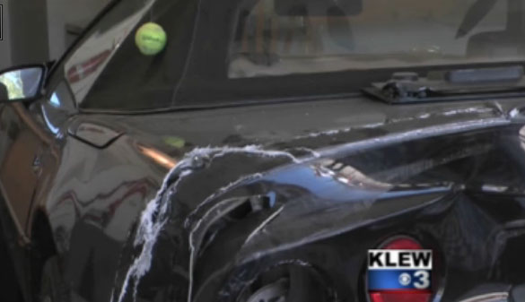 [ACCIDENT] Drunk Driver Takes Out a Parked Corvette and Motorcycle in Idaho