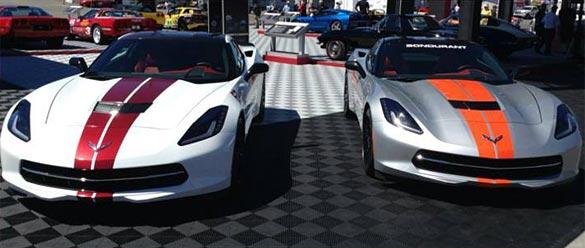 Chevy Reveals Two More Corvette Stingray Stripe Colors in Monterey