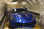 Europe-Bound 2014 Corvette Stingray Loaded onto a Jet Airliner