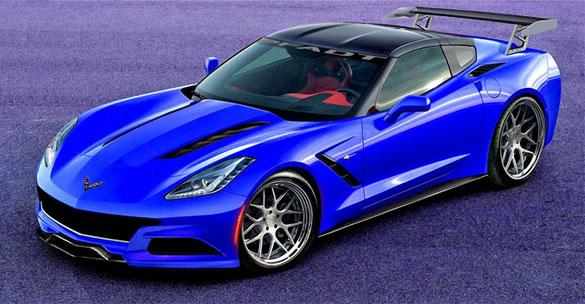 2014 Corvette Stingray P58 Concept to be Shown at SEMA