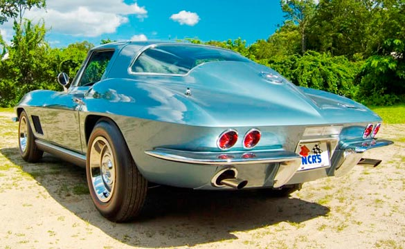 1967 Corvette Coupe Lot# 1331 sold for $100K