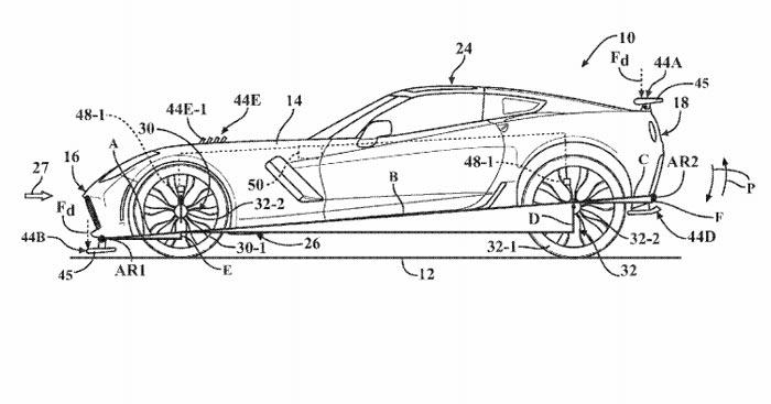 Patent Application Details Adaptive Aerodynamics Plans for
