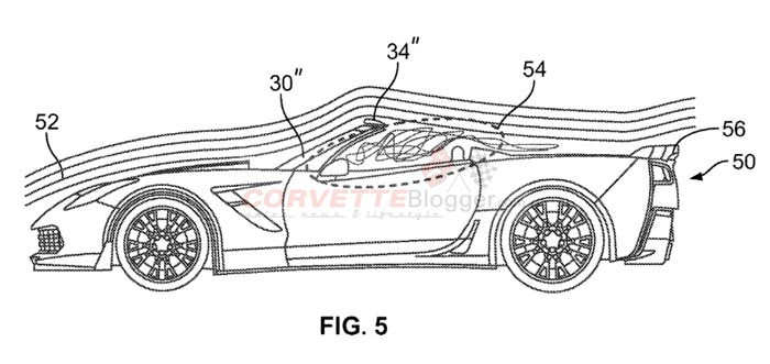 Chevrolet Patents New Air Deflector for the Corvette