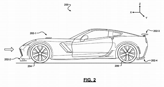 New GM Patents Leak Active Aero and Hybrid Details on the