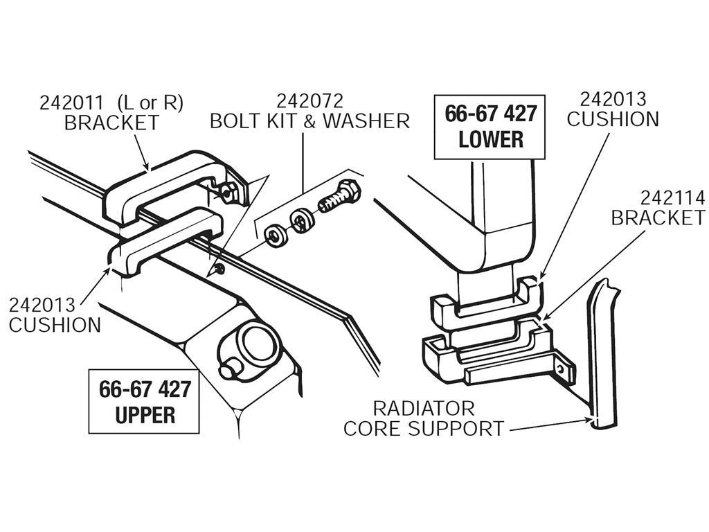 Firebird Radiator Mount | Wiring Diagram Database
