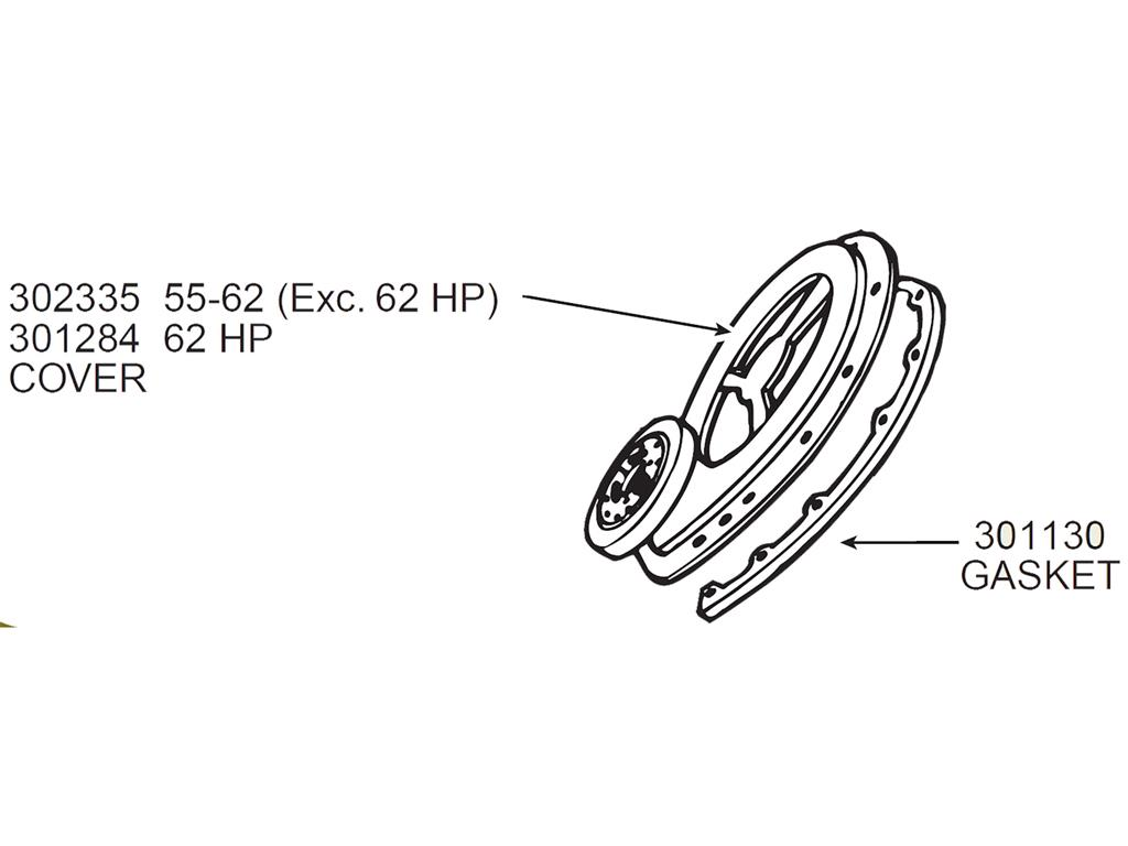 55 74 Timing Chain Cover Gasket Set
