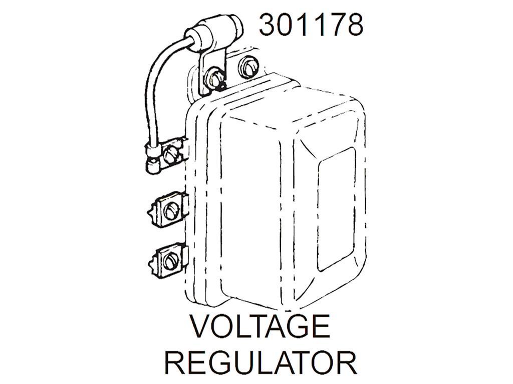 55 62 Voltage Regulator Radio Capacitor With Bracket New
