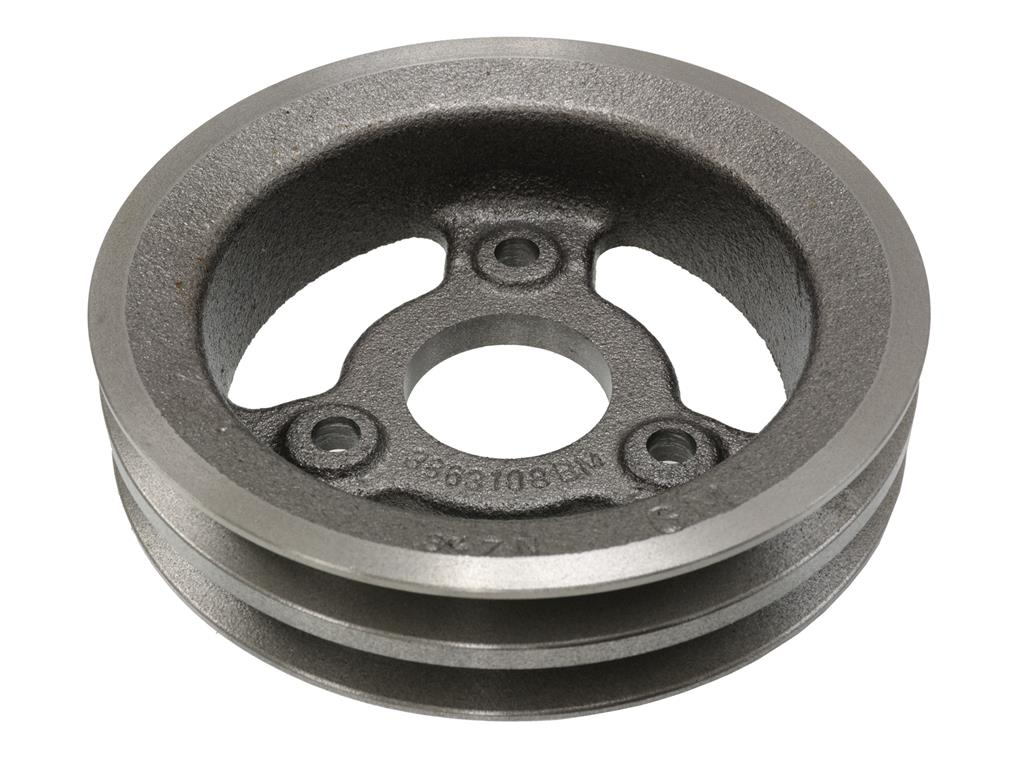 hight resolution of 65 71 crankshaft pulley 427 454 2 groove lower cast iron 65 67 replacement