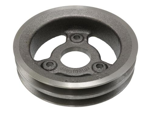 small resolution of 65 71 crankshaft pulley 427 454 2 groove lower cast iron 65 67 replacement