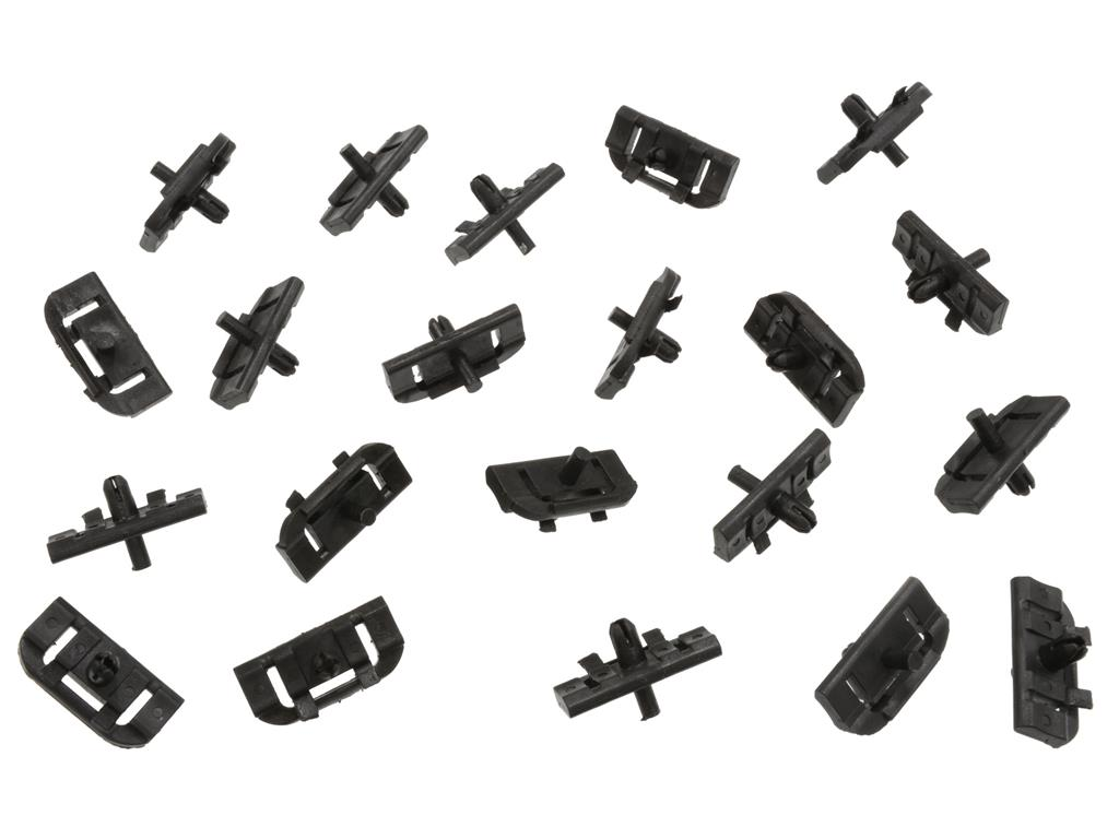 78 82 Rear Outer Window Moulding Mounting Clips