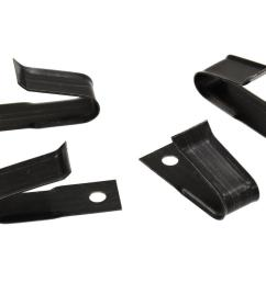 61 62 wire harness clip trunk lid edge set of 8 [ 1024 x 768 Pixel ]