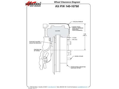 65-82 Wilwood Direct Fit Aluminum Brake Caliper Set