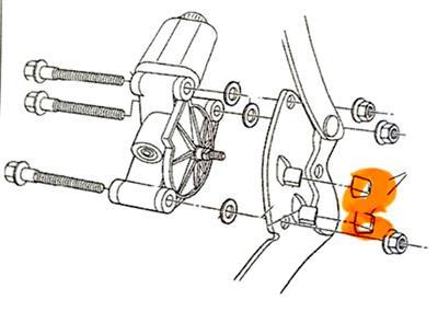97-04 Headlight Stop Bumper / Insulator (Set of 2
