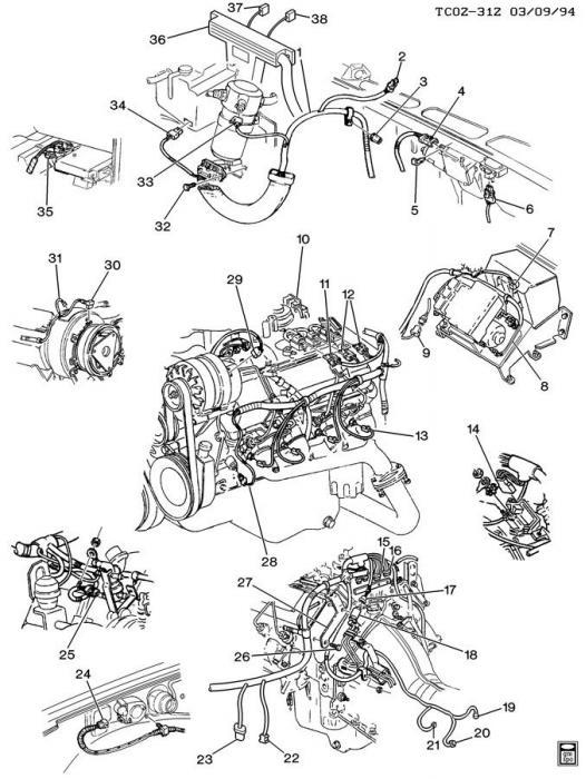 Corvette Exhaust Manifold Head Valve Connector, Emission