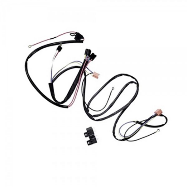 Headlight Power Upgrade Harness For Halo Lamps