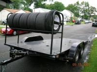 Pictures of Open Trailers with Tire Racks? - CorvetteForum ...