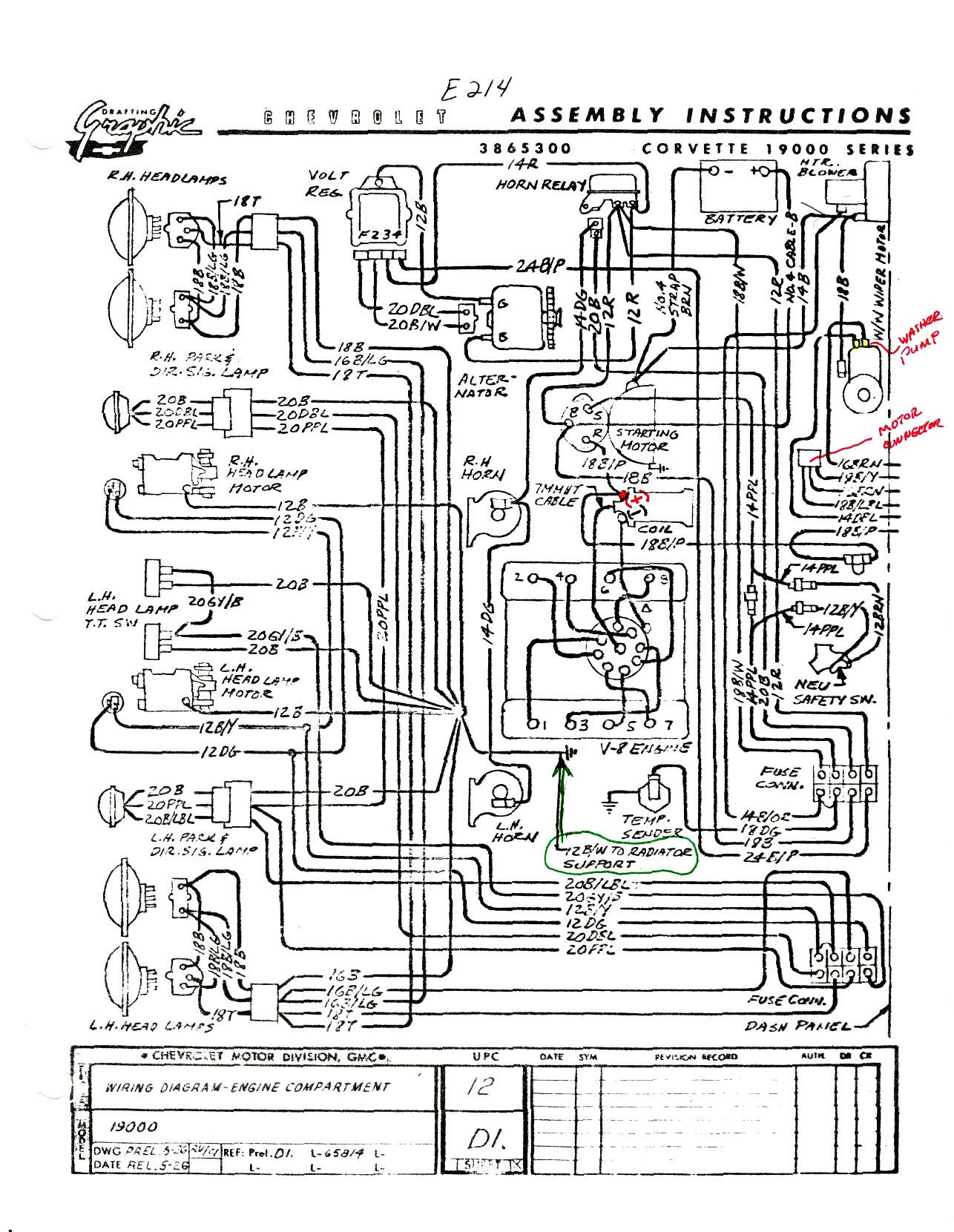 1968 Chevelle Wiring Diagram Chevelle Gauge Wiring Diagram Wiring