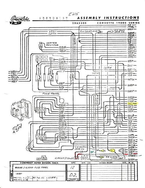 small resolution of 1960 chevy ignition switch wiring diagram wiring library 1964 corvette wiring diagram 1958 corvette dash wiring diagram
