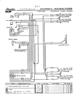 I need a 1965 wiring diagram  CorvetteForum  Chevrolet