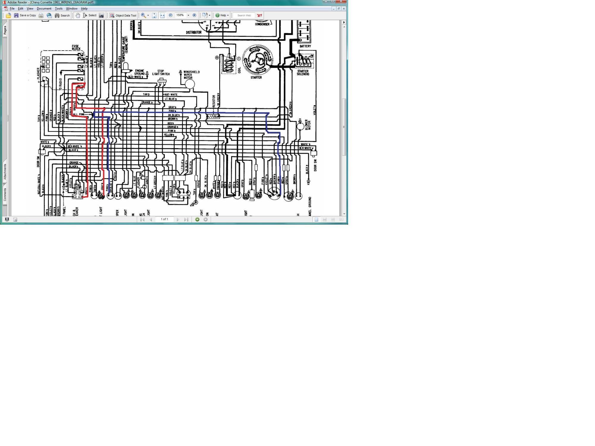 hight resolution of 61 corvette wiring diagram