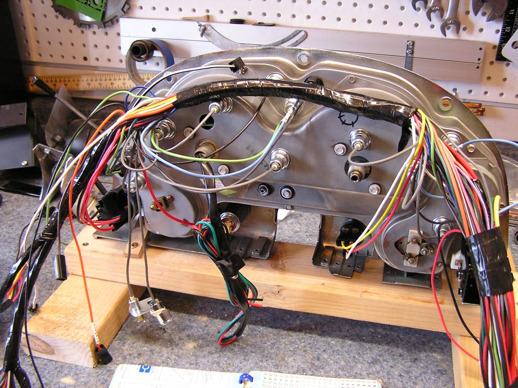 1976 corvette dash wiring diagram 2003 honda civic mid year 3963 harness install corvetteforum