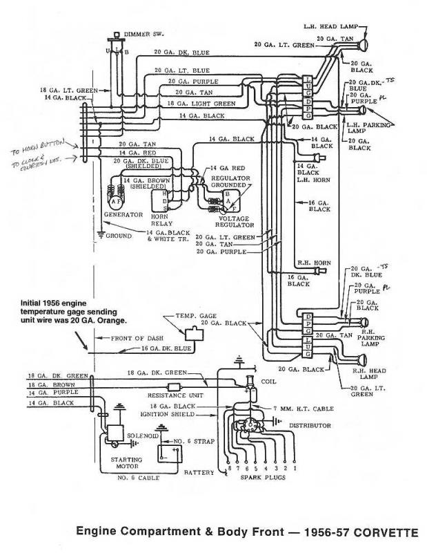 1957 Chevy Spark Plug Wiring Diagram. Chevy. Auto Wiring