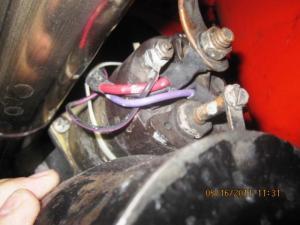 Starter Solenoid Purple Wire  CorvetteForum  Chevrolet