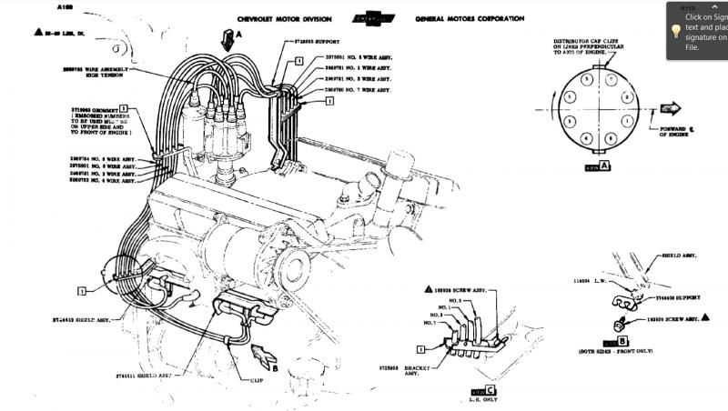 Chevy 327 Spark Plug Wiring Diagram 1994 350 Chevy Engine
