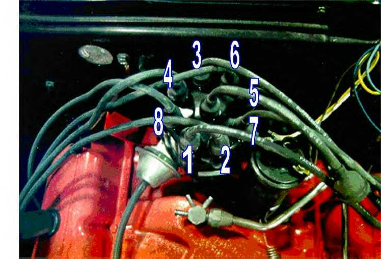 1972 Chevy 350 Firing Order