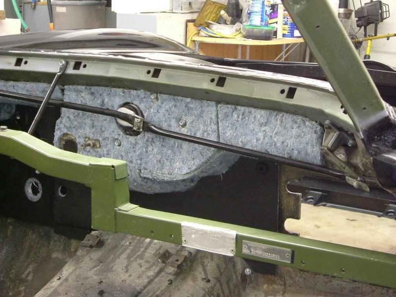 1965 Chevrolet C20 Truck Wiring Diagram C2 Firewall Insulation 1964 Coupe Corvetteforum