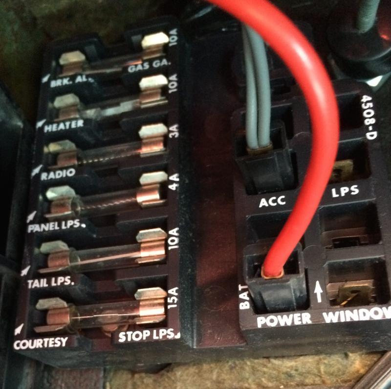 relay wire diagram 2 lights one switch wiring 65 - ammeter inop corvetteforum chevrolet corvette forum discussion