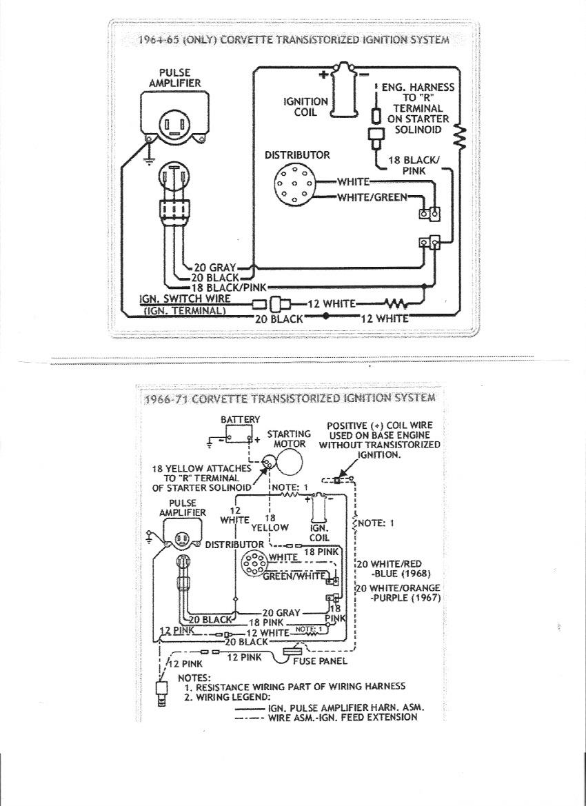 transistor wiring diagram halogen work light ignition electricity site adding corvetteforum chevrolet corvette