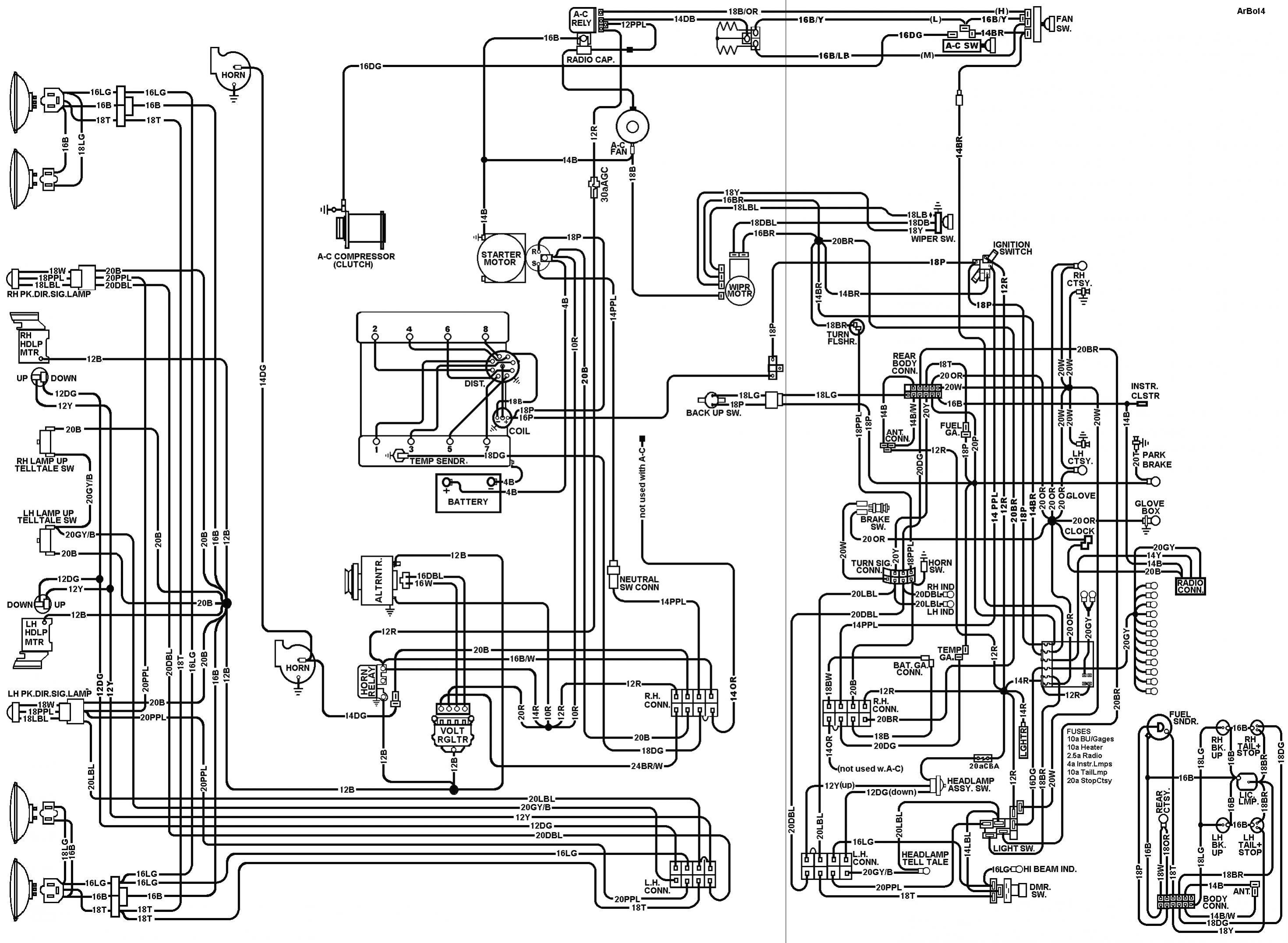 74 corvette wiring schematic download wiring diagram