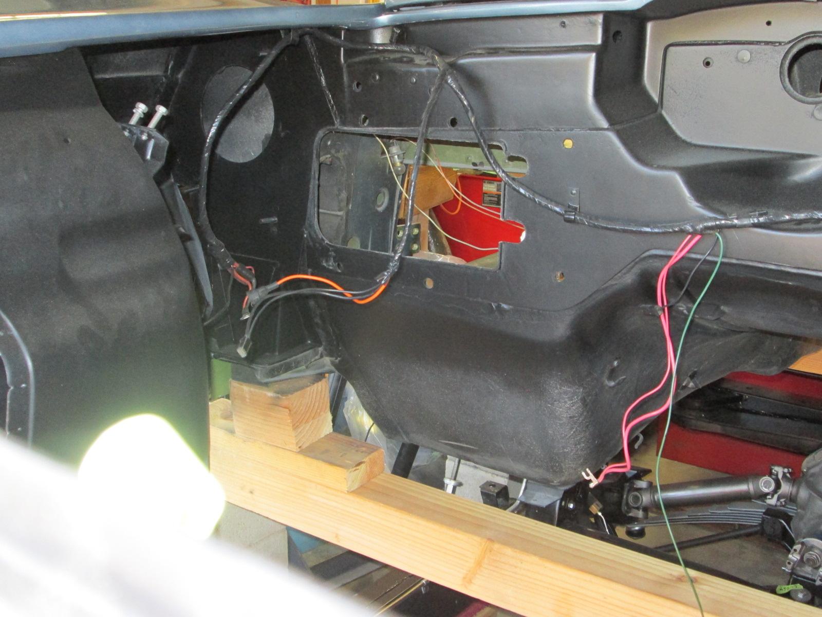 67 Wire Harness Routing Question CorvetteForum Chevrolet