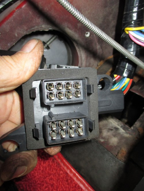 small resolution of wiring harness connection at firewall corvetteforum chevrolet corvette forum discussion