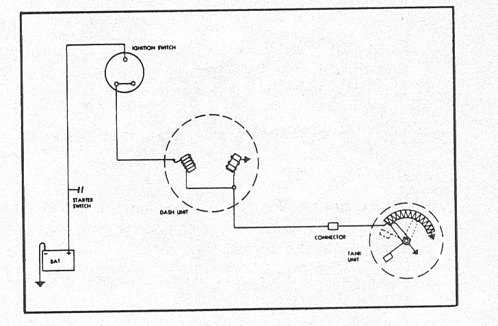 wiring diagram for fuel sending unit