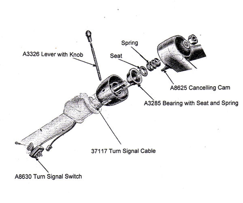 1963 corvette turn signal wiring diagram