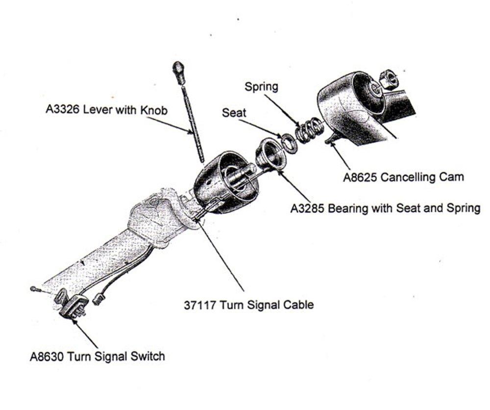 medium resolution of 1963 ford turn signal switch wiring diagram