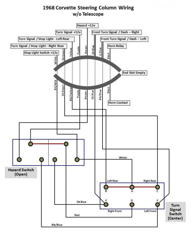 47726833d1370544375 turn signal switch steering column wiring diagram_open?resize=650%2C800&ssl=1 gm tilt steering column wiring diagram cadillac steering column Rock Layes Tilt Diagram at readyjetset.co