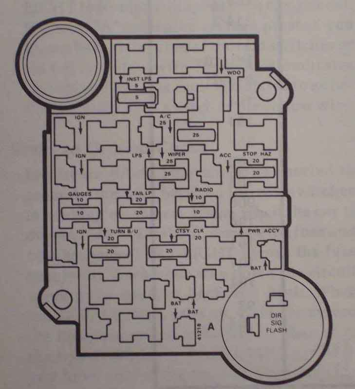 1979 corvette dash wiring diagram plug fuse box corvetteforum chevrolet forum name 79fusepanel jpg views 14722 size 34 1 kb