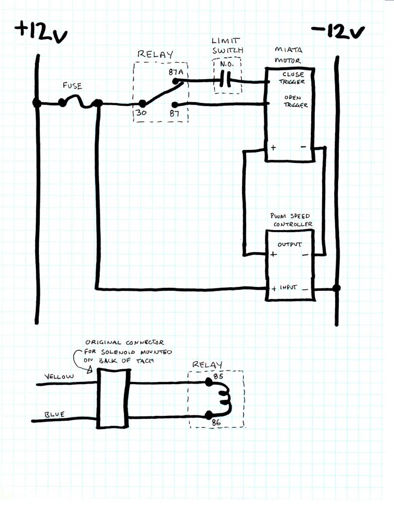 72 corvette wiper system wiring diagram