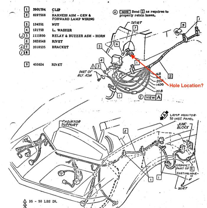 Corvette Horn Relay Location : 69 Camaro Horn Relay Wiring