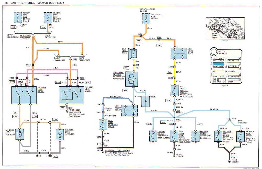 medium resolution of c3 1978 wiring diagram corvetteforum chevrolet corvette forumname anti theft power door lock jpg views 4443