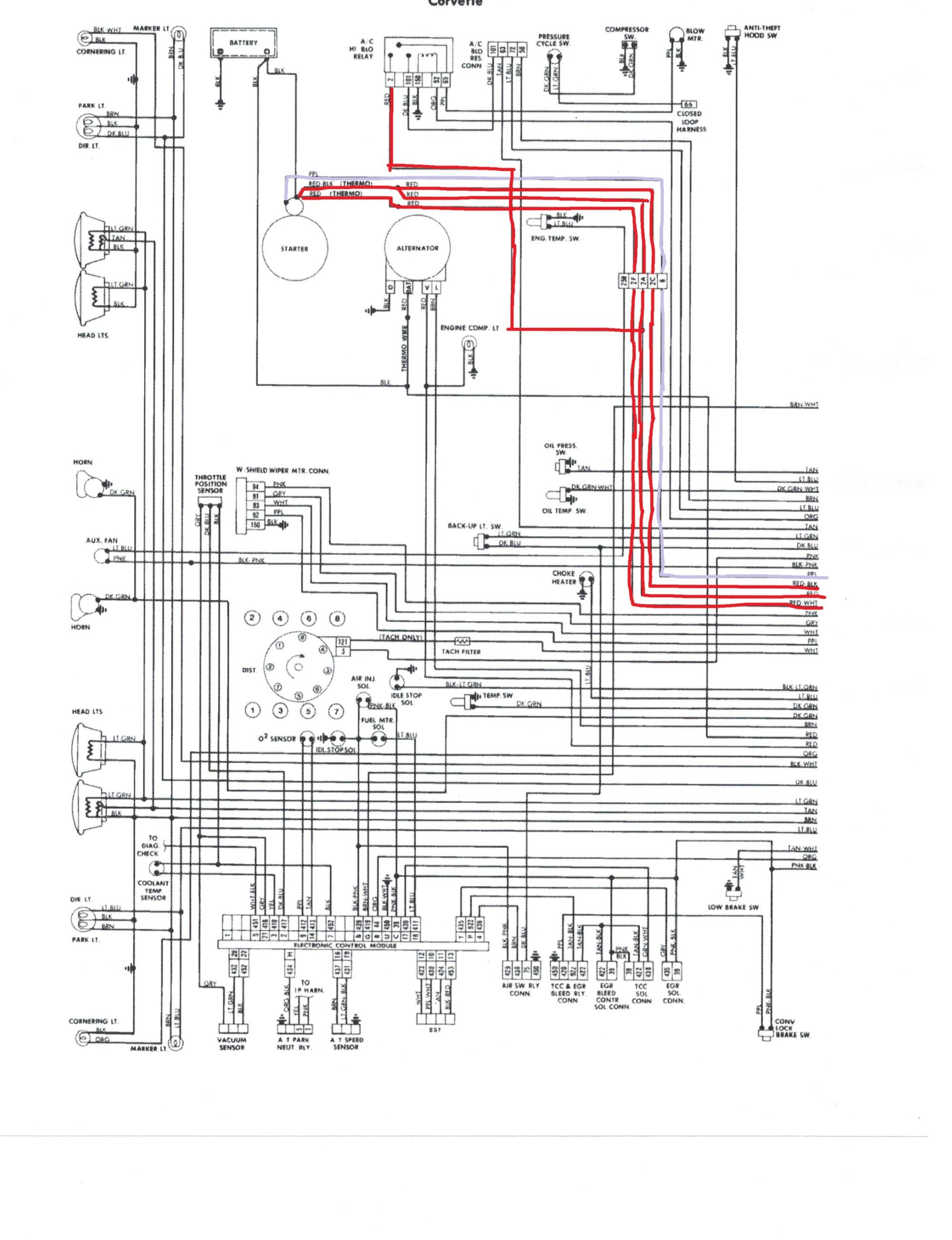 hight resolution of  1977 1981 starter wiring corvetteforum chevrolet corvette forum on 1969 corvette starter