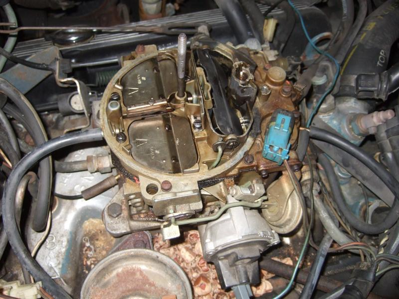 88 Chevy Starter Wiring 1981 V8 With Air And Cruise Carb Replacement What Do The