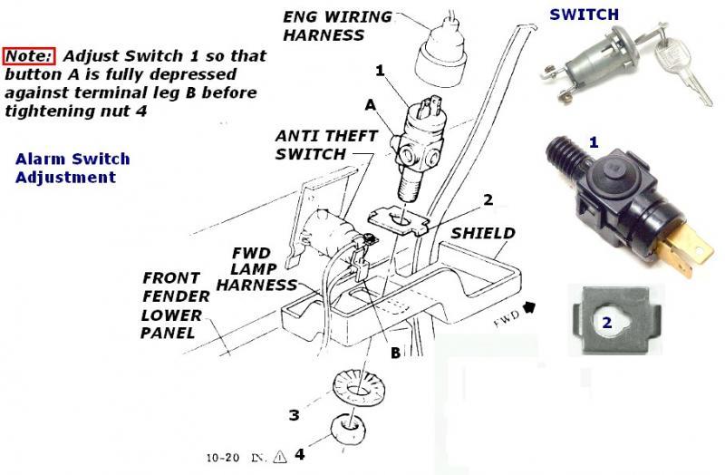 1975 Corvette Alarm Wiring Diagram. Corvette. Auto Wiring