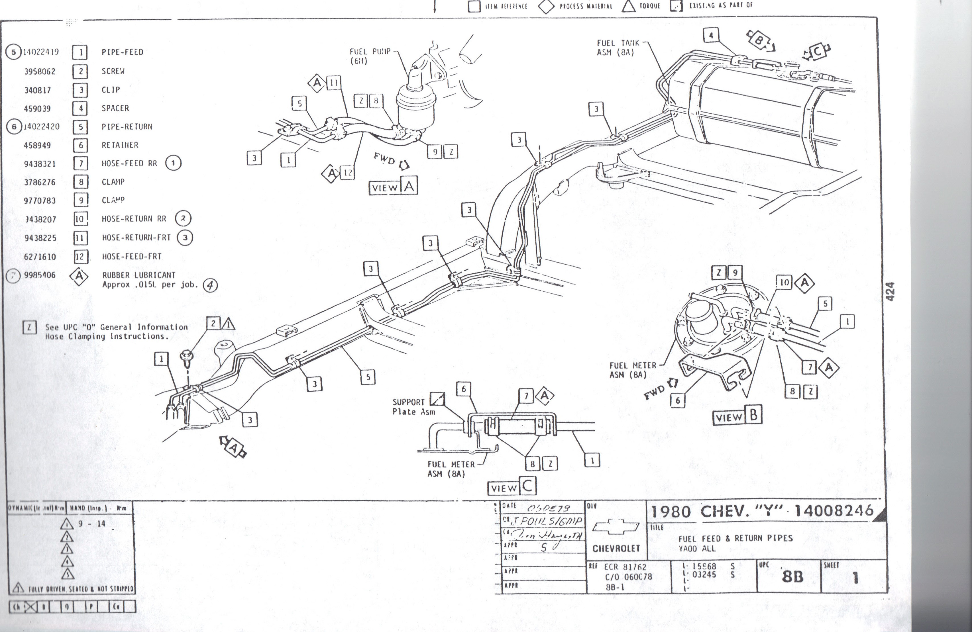 01 Corvette Fuel Tank Diagram