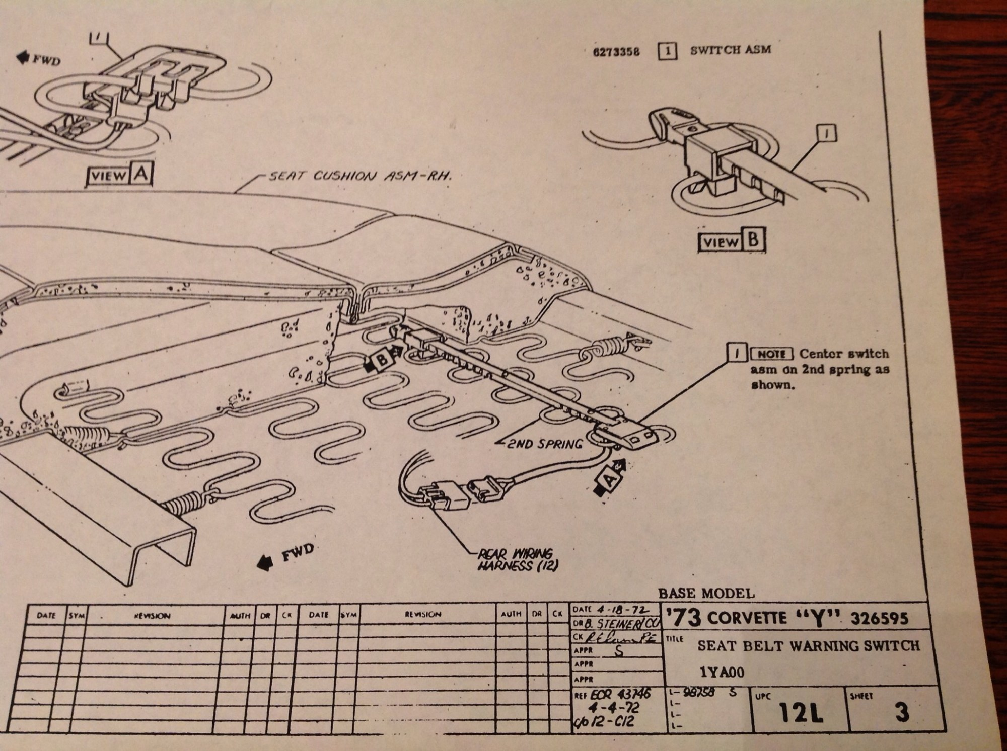 hight resolution of circuit diagram for typical seat belt warning light schematic wiring 1968 chevy seat belt diagram wiring