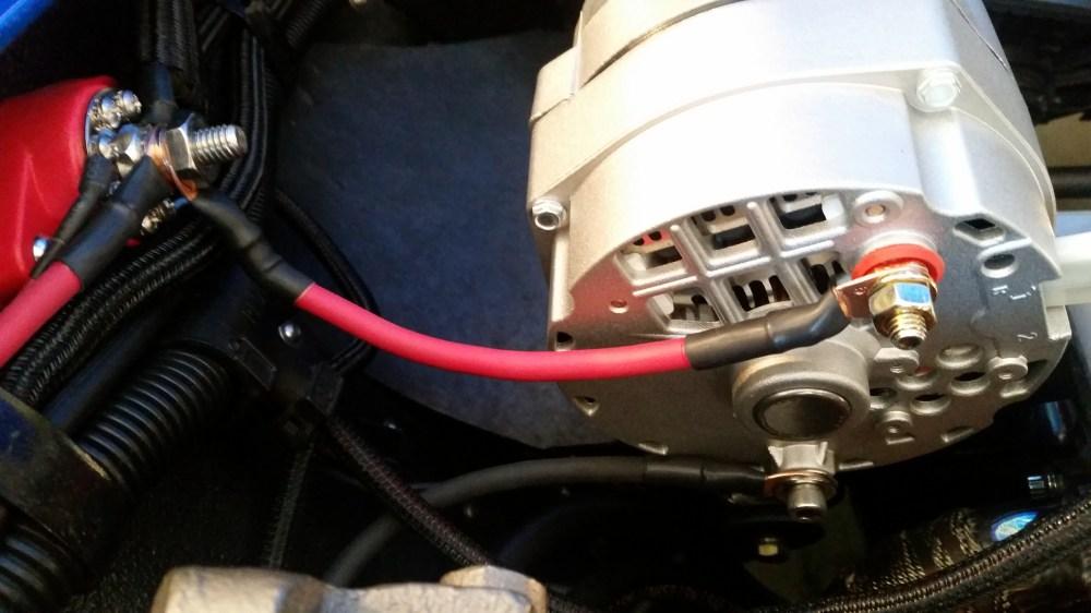 medium resolution of alternator extremely hot corvetteforum chevrolet corvette delco alternator wiring in mechanical matters v forum
